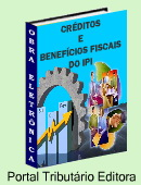 Explanao prtica e terica sobre os crditos e benefcios fiscais do Imposto sobre Produtos Industrializados - IPI.Benefcios e Crditos admitidos por Lei - Utilize esta obra para Economia Tributria! Ideal para escrituradores fiscais, contabilistas, auditores, consultores e outros profissionais que lidam com administrao tributria. Clique aqui para mais informaes.
